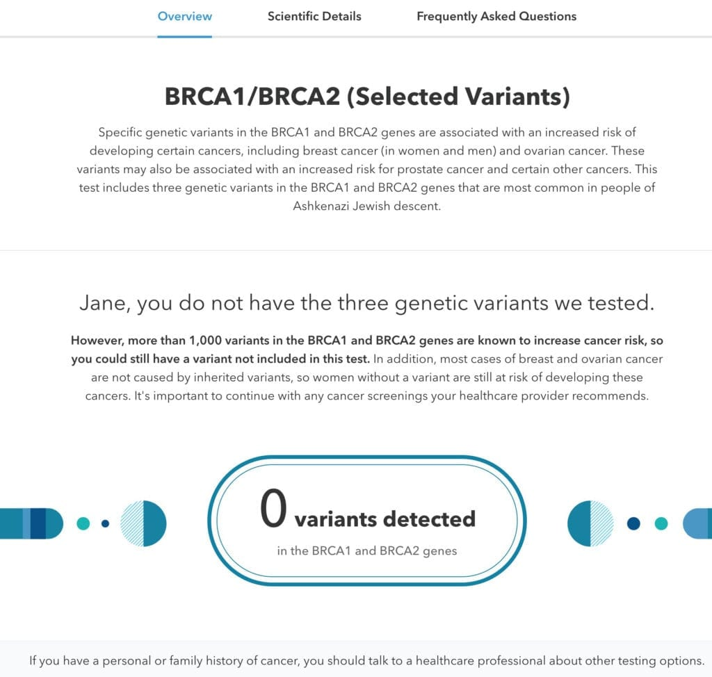 23andme S New Brca1 Brca2 Report 23andme Blog