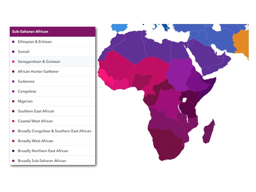 New African & East Asian Details in 23andMe's Latest