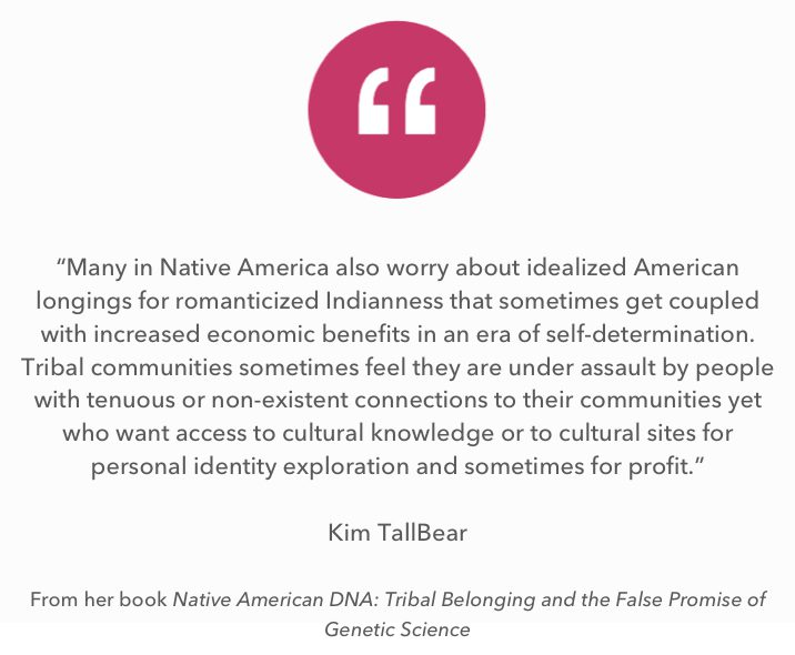 A Quote from Kim TallBear